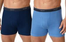 Jockey Classic  3 Pair Boxer Briefs Assorted Colors 100% Cotton Size Medium