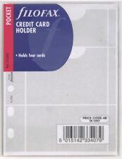Filofax Einlage Pocket: Kreditkartenhülle