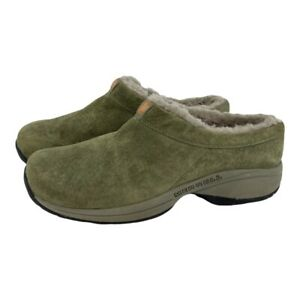 Merrell Women's Size 9 Primo Chill Slide Moss Green Lined Slip On Shoes Mules