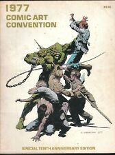 1977 COMIC ART CONVENTION MAGAZINE PROGRAM FANZINE WRIGHTSON BERNIE HORROR