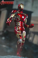 COMICAVE 1/12 Iron Man MARK 43 MK43 Action Figure Toy Collection Model Gift