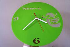 Reloj De Pared Shrek De Diseño, Verde plexiglás [I-7]