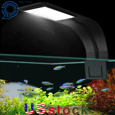 Super Slim Aquarium  LED Light 10W Aquatic Grow Plant Clip-on Lamp For Fish Tank