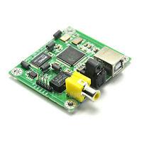 HiFi CM6631A 32bit 384K USB To SPDIF Coaxial Optical Fiber Output DAC Board