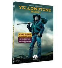 Yellowstone Season 3 (DVD, 4-Disc,2020) Brand NEW