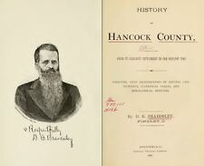 1881 HANCOCK County Ohio OH, History and Genealogy Ancestry Family Tree DVD B14
