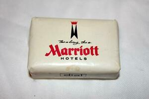 Vintage Complimentary Marriott Hotels Bar of Soap