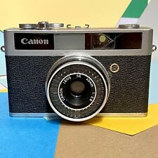 Canon Canonet Junior 35mm Compact Film Camera with 40mm f/2.8 Usable! Lomo!