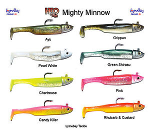 Tronixpro Axia 28g Mighty Minnow - 11cm /28g - 1 Head / 2 Bodies - All Colours