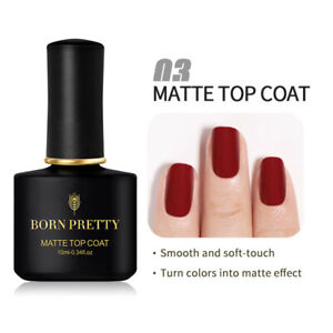 BORN PRETTY 10ml Blue Color Gel Nail Polish Orange Grey Varnish Soak Off Nails