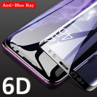 6D Curve Full Tempered Glass Screen Protector For Samsung Galaxy Note 9 S9 S8+