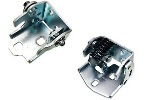Door Hinge Rear Right Side Lower and Upper Set of 2 fits Cadillac Chevrolet GMC