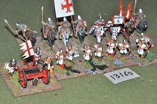 25mm medieval battle group (as photo) (13160)