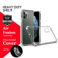 For Apple iPhone 11 Pro Max 2019 Shock Proof Hybrid Clear Heavy Duty Case Cover