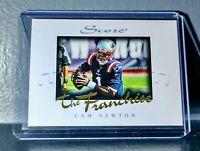Cam Newton 2020 Panini NFL Instant Score The Franchise #17 Card 1/1251