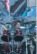 Tico TORRES SIGNED Autograph 12x8 Photo AFTAL COA Bon Jovi Drummer Rock Music