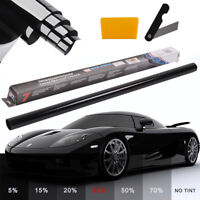 PRO LIMO BLACK 35% CAR WINDOW TINT ROLL 6M x 76CM FILM TINTING ANTI-SCRATCH