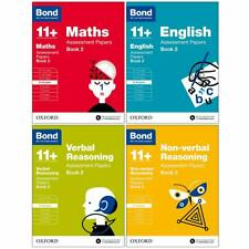 More details for bond 11+ maths, english 4 books set assessment papers (book 2) (age 9-10)