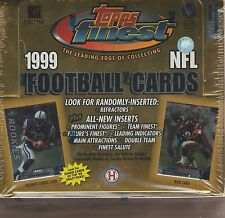 1999 Finest Football Box Hobby Edition