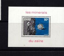 Zaire #1110  (1983 Minerals sheet) VFMNH CV $10.00