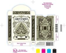 Grotesque deck of playing cards - UnitedCardists 2014 Brand New Sealed