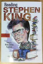 Reading Stephen King ~ edited by Brian James Freeman ~ Cemetery Dance ~ ARC RARE