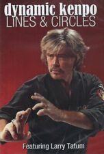 Dynamic Kenpo Karate Lines & Circles Mma Dvd Larry Tatum Ed Parker