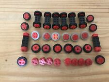 Vintage Lego 4 Stud, Train Car Wheels Tyre Axels Job  Lot