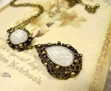 Vintage Style Pendant Long Chain Necklace (N038)