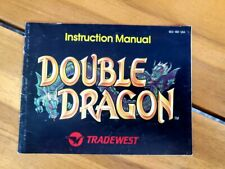 DOUBLE DRAGON NES NINTENDO INSTRUCTION BOOKLET