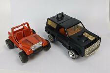 Kenner M.a.s.k. Jackhammer & Gator Worn Vehicle Lot