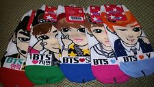 BTS SOCKS 5 pairs - BANGTAN DARK & WILD Young Forever  wings dna her
