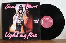 Amii Stewart Light my fire Maxi 45T Carrere 8049 Made in France 1979