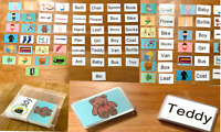 50 First Words Pictures Flashcards Set Kids Toddler Preschool Learning Resource