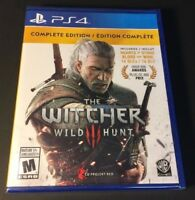 The Witcher 3 Wild Hunt [ Complete Edition ] (PS4) NEW