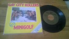 "7"" Punk Gay City Rollers-Golf miniature énerve/M 'ROCK' NROLL (2) chanson Weser label"