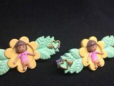 Polly Pocket Mini 💛  1990 - Little Lulu's Hairslides Haarspange  7.4.