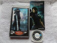 Crisis Core Final Fantasy VII PSP región 2 Rápido Post