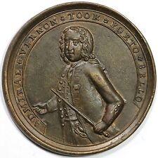 1739 ADAMS-PBv-13-K Porto Bello 6 Ships Admiral Vernon Betts Medal