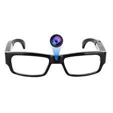 Hidden Spy Camera Video Recorder Glasses 5MP Photo & High Quality Full HD 1080p