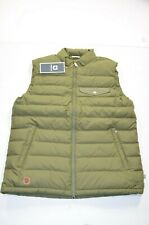 NWT Fjallraven Greenland Vest Down Full Zip Green Sz L Large
