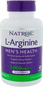 L-Arginine Advanced Formula by Natrol, 90 tablets 3000 mg 1 pack