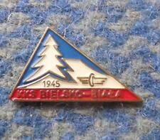 KKS BIELSKO BIALA POLAND SKI SKIING BIATHLON 1980's SMALL PIN BADGE