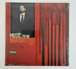 Eminem MUSIC TO BE MURDERED BY Limited Edition NEW SEALED BLACK ICE VINYL 2 LP