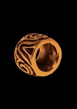 Mittelalterliche Bartperle und Lockenperle aus Bronze