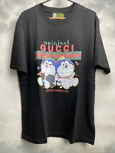 Gucci T-Shirt Doraemon Color: Black  AUTH