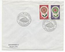 FRANCE 1964 . FDC.CONSEIL DE L'EUROPE.EUROPA.OBLITERATION:STRASBOURG LE 12/9/64