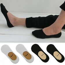 Pairs of Men Invisible 100% Cotton Liner Socks No Show Secret Footsies Practical