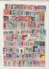 URUGUAY CHILI ARGENTINE EQUATEUR MEXIQUE BOLIVIE ETC 140 timbres cote ??