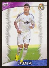 #645. CASEMIRO (Ultima Hora +I) - Real Madrid CF  2013/2014 - CARD Mundicromo